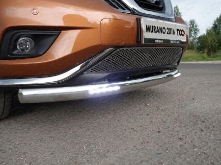 Nissan Murano 2016-Решётка радиатора нижняя (лист)